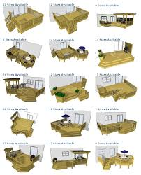 ground level deck plan pictures are courtesy of decks com to purchase deck plans please visit decks com
