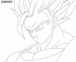 Small Picture Goku Super Saiyan Coloring Pages Free Coloring Pages For Kids And