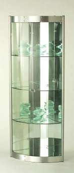 modern curio cabinet. Corner Curio Cabinet Too Modern For Living Room Within Ideas Contemporary R