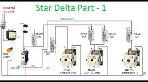 symbols exciting star delta starter motor control circuit Pictorial Contactor Relay Wiring Diagram exciting star delta starter motor control circuit diagram in hindi pictorial diagrams medium size Start Stop Contactor Wiring Diagram