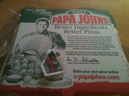 marooned in marin 2012 just had a small papa john s pepperoni pizza to participate in national papa john s appreciation day see earlier post