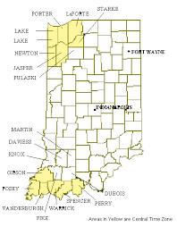 26 Original Time Zone Map Indiana Bnhspine Com