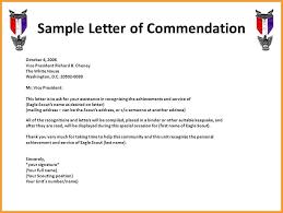commendation letter sample 15 sample employee commendation letter self introduce