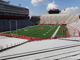 Nebraska Cornhuskers Stadium Seating Chart Nebraska Memorial Stadium View From Endzone 14 Vivid Seats