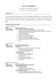 Template General Chronological Resume The Template Sit General