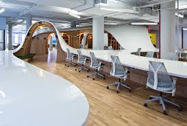 open office concept. Open Office Interpretations: The \u201cEndless Desk\u201d At Barbarian Group In NYC Concept
