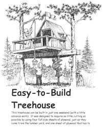 Idea 2 we like also requires two trees Tree House Ideas