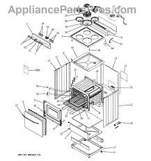ge wb17x210 terminal block appliancepartspros com part diagram