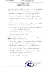 Pharos indonesia mengundang sdr untuk psikotest hari rabu jam 08.00 trs gw searching disini, cari informasi yg serupa. Pengumuman Atim