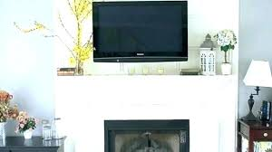 how to mount tv over fireplace and hide wires mounting on brick fireplace mount on brick how to mount tv