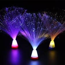 decorative fiber optic lighting tree flower