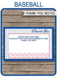 Printable Party Thank You Notes Archives Page 2 Of 3