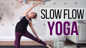 slow flow yoga cl beginner interate full body vinyasa yoga 45 min