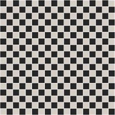 black and white tile floor. Victorian Black/White Chequer Tile Black And White Floor