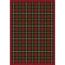 tartan green rug 1511x 06