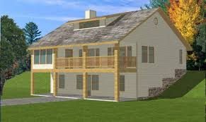 house plans for sloped lots ideas
