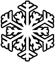 black and white snowflake pattern. Beautiful Black Christmas Snowflakes Decoration Coloring Page Photo For Kids To Draw Colors For Black And White Snowflake Pattern O