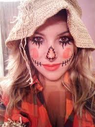 cute scarecrow makeup