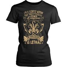 Mypres Chart Login Scorpio Woman T Shirt