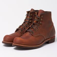 red wing blacksmith 3343 copper leather boots