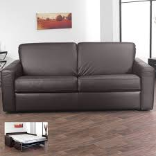leather sofa bed. Modren Leather Florence 3 Seater Italian Leather Sofa Bed With Foam Mattress Brown To K