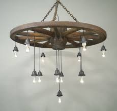 metal wagon wheels for how much are old worth wheel chandelier light fixtures dining room outdoor