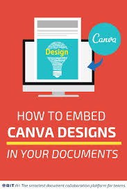 How To Embed Canva Designs Into Your Documents Bit Blog