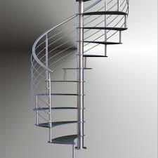 steel stair railing. Indoor Modern Design Spiral Staircase With Stainless Steel Stair Railing
