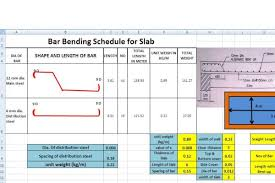 Bar Bending Schedule Excel Sheet Free Download Civiconcepts