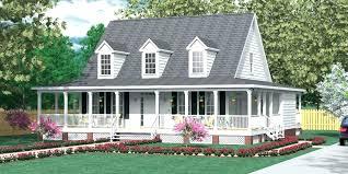 one story farmhouse with wrap around porch one story wrap around porch house plans best of