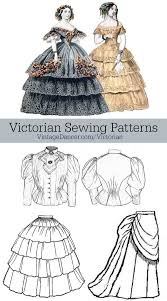 Victorian Sewing Patterns