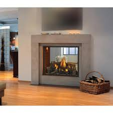 napoleon hd81 direct vent natural gas see thru fireplace gas log guys com