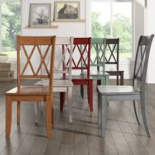 amazing x back dining chairs eleanor double wood chair set of 2 by inspire q