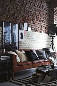 design pinterest stockholm google. A Stockholm Sofa In Brown Leather Looks Chic An Industrial Space With  Vintage Feel Design Pinterest Stockholm Google E