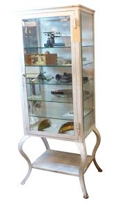 Antique Medicine Cabinet Vintage Medical Cabinet With Cabriole Legs From Oldegoodthings On