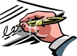 Bildergebnis für signature clipart
