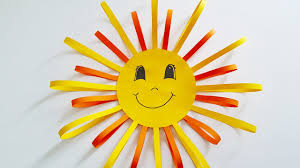 Basteln Fensterbild Sonne Diy Deko Selber Machen Basteln
