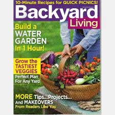 Small Picture backyard living magazine back issues Backyard and yard design