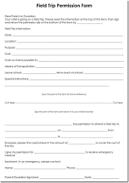 School Field Trip Permission Form Template 25 Field Trip Permission Slip Templates For Schools And