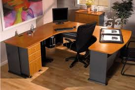 incredible office furnitureveneer modern shaped office. Series A Left Bow U-Desk Incredible Office Furnitureveneer Modern Shaped E