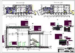 Проект ПГС Пожарное депо санно бобслейной трассы в г Сочи 2 Планы разрезы узлы