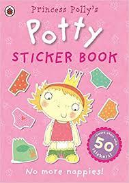 Buy Princess Pollys Potty Sticker Activity Book Potty