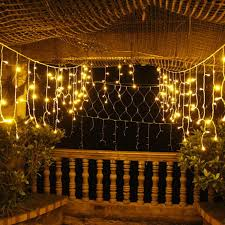 4m led strings outdoor lantern string blue warm white pink led ice bar lights curtain lights decorations lanterns outdoor globe string lights