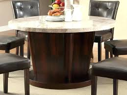 round marble top dining table round marble top dining table with lazy back to white marble