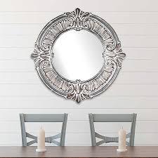 Whitewashed <b>Baroque Wall Mirror</b> | Kirklands