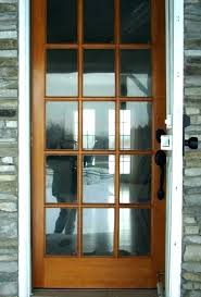 front door glass repair replacement cost replace insert large size of window per entry