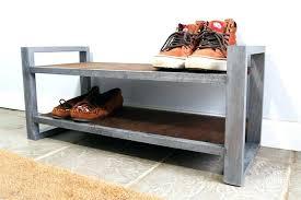 metal and wood shoe rack diy wooden pallet industrial wood shoe rack