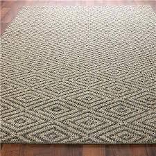 gray sofa with sisal rug 7