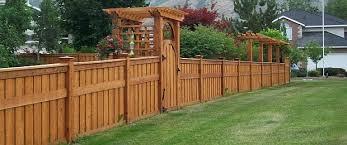 picket fence gate with arbor. Custom-cedar-wood-fence-gate-arbor-trellis-banner.jpg Picket Fence Gate With Arbor