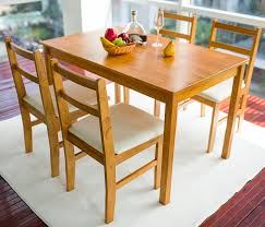 Pine Kitchen Tables And Chairs Merax A Wf006832laa Wf006833laa